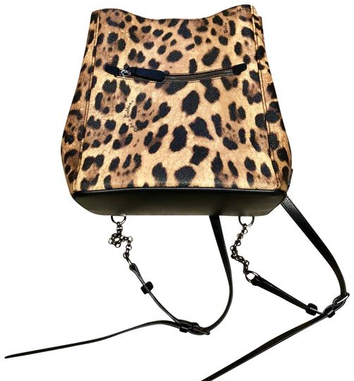 Preload https://item3.tradesy.com/images/dolce-and-gabbana-d-and-g-brown-leopard-leather-backpack-23331087-0-1.jpg?width=440&height=440