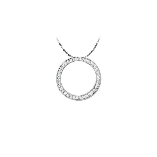 Preload https://img-static.tradesy.com/item/23331090/white-silver-perfectly-crafted-cubic-zirconia-circle-pendant-925-ste-necklace-0-0-540-540.jpg
