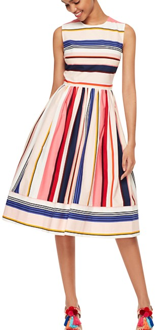 Preload https://item5.tradesy.com/images/kate-spade-berber-stripe-fit-and-mid-length-night-out-dress-size-6-s-23331094-0-1.jpg?width=400&height=650