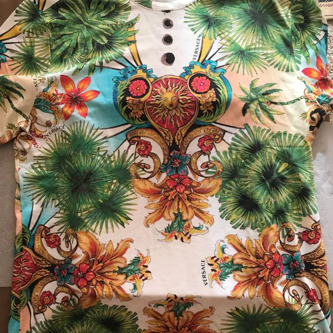 Versace T Shirt Multi Colored