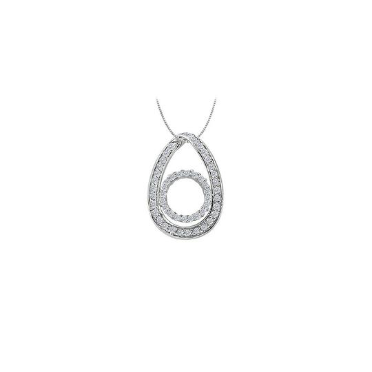 Preload https://img-static.tradesy.com/item/23331126/white-silver-cubic-zirconia-tear-drop-pendant-in-sterling-050-ct-tgwperfect-necklace-0-0-540-540.jpg