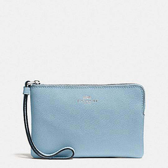 Coach New With Tags Wristlet in Pool Blue
