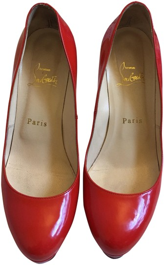 Preload https://item4.tradesy.com/images/christian-louboutin-red-to-orange-round-toe-platforms-size-us-7-narrow-aa-n-23331168-0-1.jpg?width=440&height=440