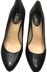 Cole Haan Navy Leather Nike Air Cushion Pumps