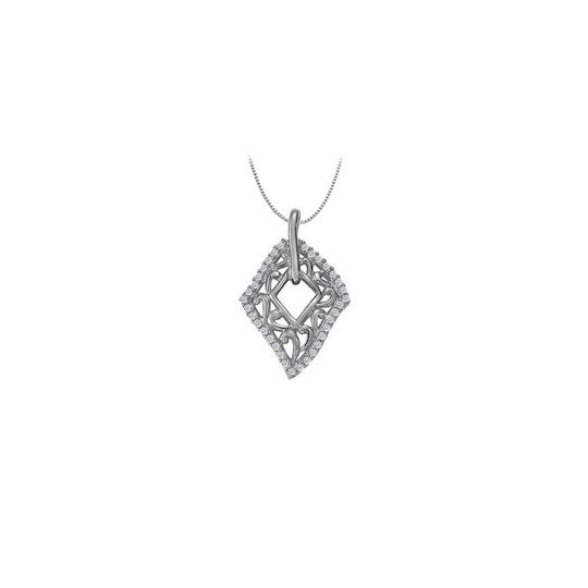 Preload https://item2.tradesy.com/images/white-silver-cubic-zirconia-fashion-kite-pendant-in-925-sterling-025-ct-tgw-necklace-23331236-0-0.jpg?width=440&height=440