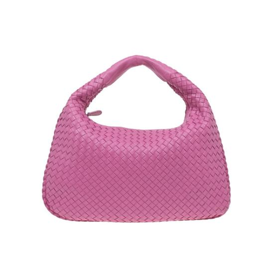 Preload https://item4.tradesy.com/images/bottega-veneta-small-intrecciato-pink-suede-leather-hobo-bag-23331238-0-0.jpg?width=440&height=440