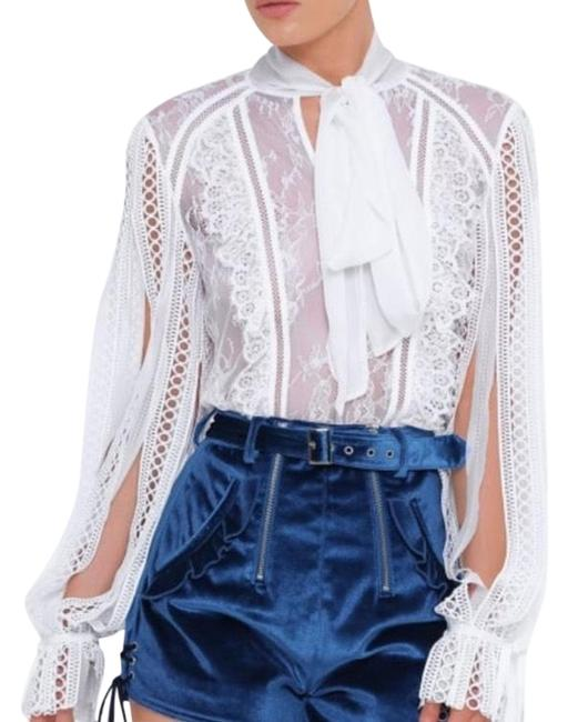 Preload https://item5.tradesy.com/images/self-portrait-white-lace-paneled-blouse-size-8-m-23331239-0-1.jpg?width=400&height=650