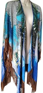 Chico's Ruana Wrap Shawl Cape