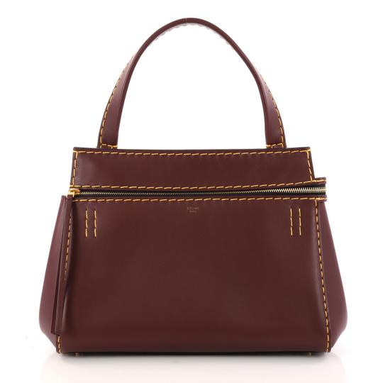 Preload https://item1.tradesy.com/images/celine-edge-small-burgundy-leather-tote-23331255-0-0.jpg?width=440&height=440