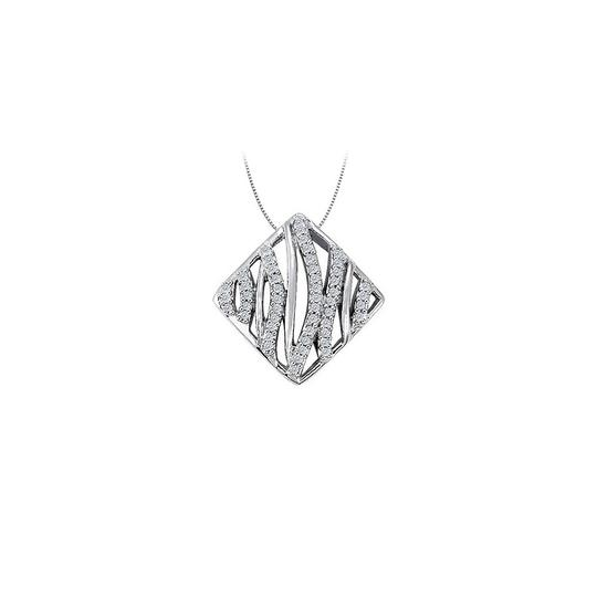 Preload https://img-static.tradesy.com/item/23331286/white-silver-cubic-zirconia-square-shaped-pendant-in-sterling-025-ct-tgwper-necklace-0-0-540-540.jpg