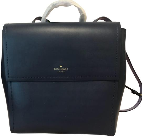 Preload https://img-static.tradesy.com/item/23331318/kate-spade-somerville-road-megyn-diver-bluesmoke-blue-leather-backpack-0-1-540-540.jpg