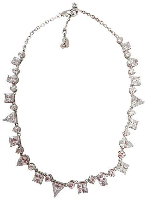 Betsey Johnson Silver New Sparkly Necklace Betsey Johnson Silver New Sparkly Necklace Image 1