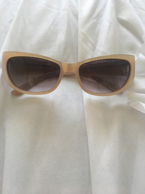 Marc by Marc Jacobs Nude Sunglasses Marc by Marc Jacobs Nude Sunglasses Image 1