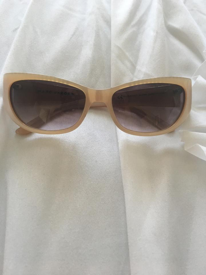 8f8bf1a54453c Marc by Marc Jacobs Nude Sunglasses - Tradesy