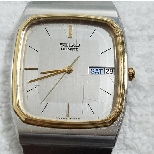 Preload https://item1.tradesy.com/images/seiko-gold-silver-two-tone-quartz-stainless-steel-bracelet-watch-23331425-0-1.jpg?width=440&height=440