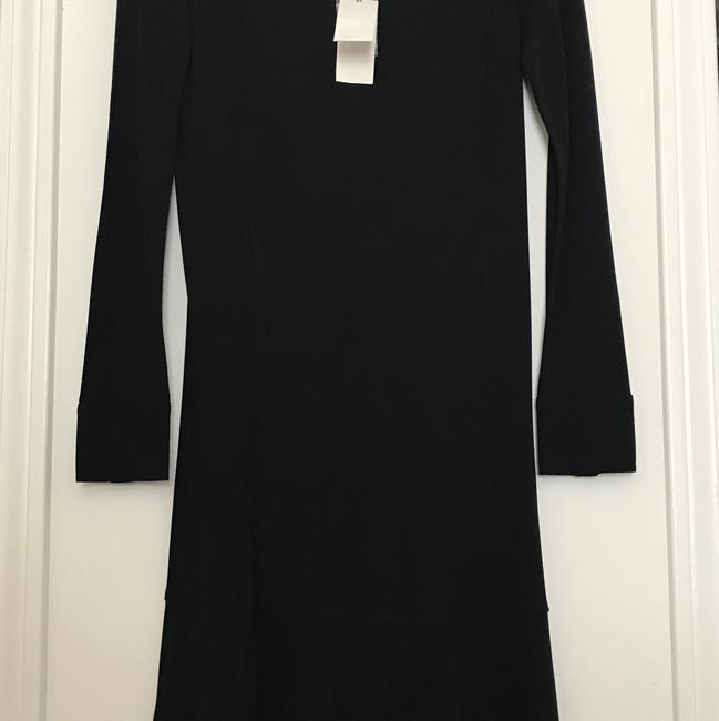Preload https://img-static.tradesy.com/item/23331431/tory-burch-black-foster-mid-length-short-casual-dress-size-0-xs-0-0-650-650.jpg