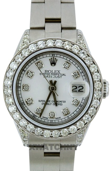 Rolex Box 1.9ct 26mm Datejust S/S with & Appraisal Watch Rolex Box 1.9ct 26mm Datejust S/S with & Appraisal Watch Image 1