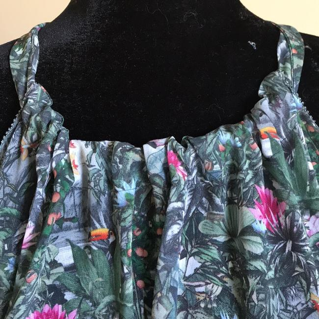 H&M Top Green Floral