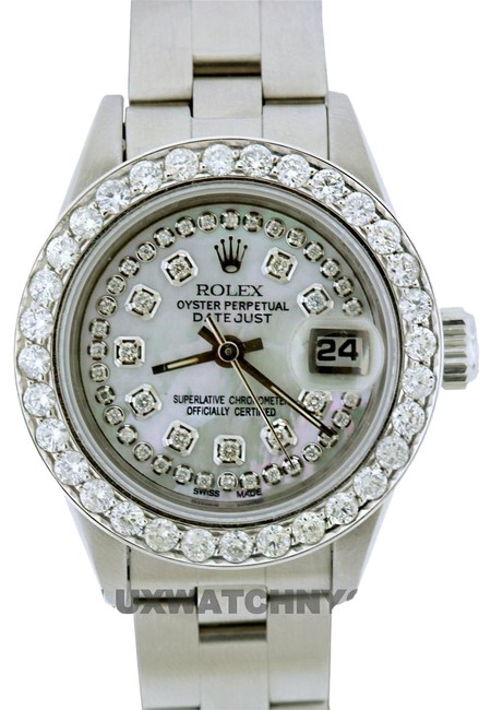 Rolex Box 1.4ct 26mm Datejust S/S with & Appraisal Watch Rolex Box 1.4ct 26mm Datejust S/S with & Appraisal Watch Image 1