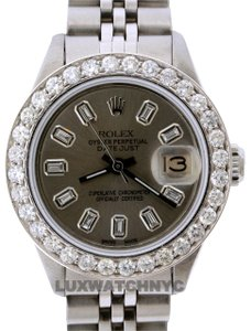 Rolex 1.4ct 26mm Datejust S/S with Box & Appraisal Watch