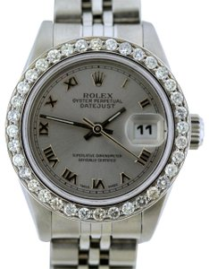 Rolex 1.1ct 26mm Datejust S/S with Box & Appraisal Watch