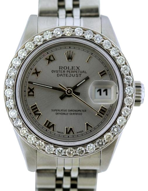 Rolex Box 1.1ct 26mm Datejust S/S with & Appraisal Watch Rolex Box 1.1ct 26mm Datejust S/S with & Appraisal Watch Image 1