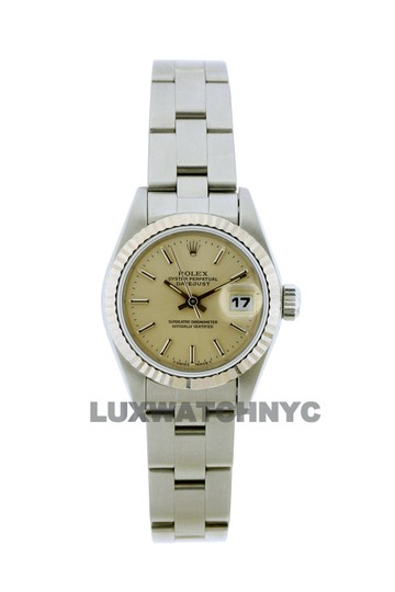 Rolex 26mm Datejust S/S with Box & Appraisal Watch