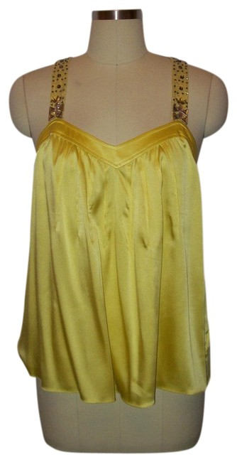Preload https://item5.tradesy.com/images/rebecca-taylor-neon-yellow-silk-crystal-topshirtblouse-sz6-blouse-size-6-s-23331569-0-1.jpg?width=400&height=650