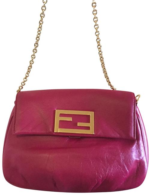 Item - Clutch Body/Clutch Sold Out Pink Lambskin Leather Cross Body Bag