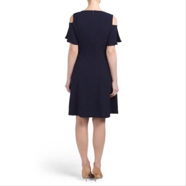 Sharagano short dress New Navy on Tradesy