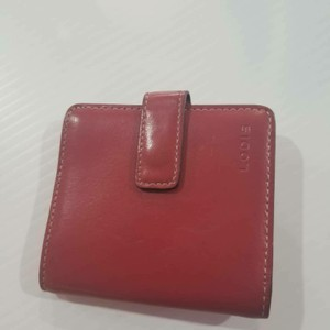 Lodis Lodis red wallet/card holder