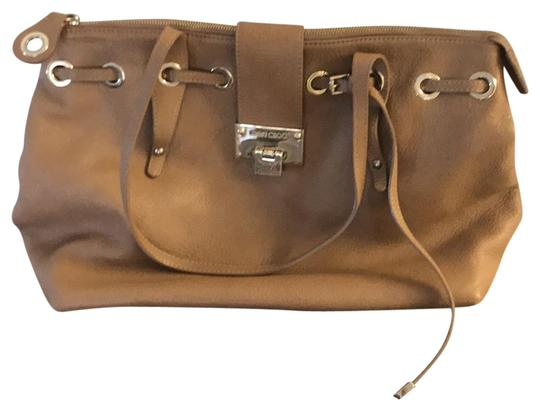 Preload https://item4.tradesy.com/images/jimmy-choo-brown-leather-shoulder-bag-23331748-0-1.jpg?width=440&height=440