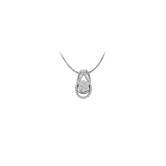 Marco B Nicely Designed Cubic Zirconia Pendant in 925 Sterling Silver Availabl
