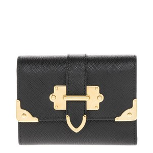 Prada Prada Women's Leather Wallet Black