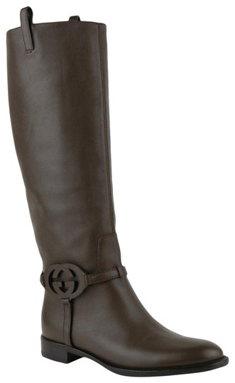 Preload https://item4.tradesy.com/images/gucci-brown-leather-knee-with-interlocking-g-40us-10-338541-2140-bootsbooties-size-eu-40-approx-us-1-23331778-0-1.jpg?width=440&height=440