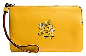 Coach Limited Edition New With Tags Sale Wristlet in Banana