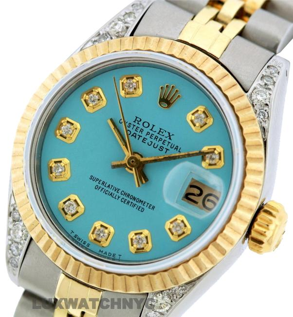 Rolex Box 26mm Datejust Gold S/S with & Appraisal Watch Rolex Box 26mm Datejust Gold S/S with & Appraisal Watch Image 1