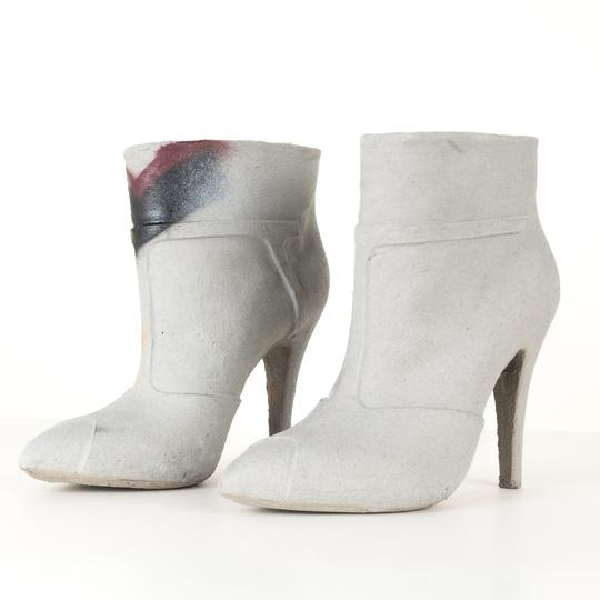 MM6 Maison Martin Margiela grey Boots