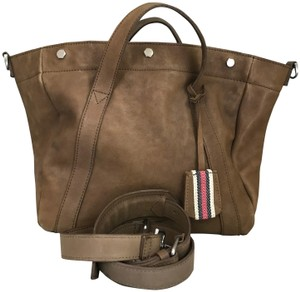 Madewell Leather Stockholm Satchel in Brown