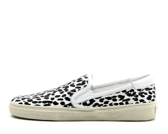 Saint Laurent Slip On Sneakers White Athletic