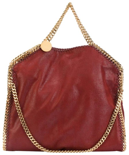 Preload https://item1.tradesy.com/images/stella-mccartney-shaggy-deer-foldover-falabella-gold-chain-burgundy-faux-leather-tote-23331905-0-6.jpg?width=440&height=440