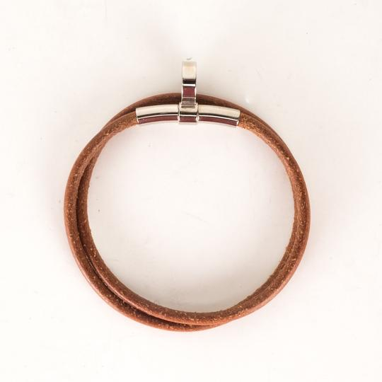 Hermès Hermès Brown Leather Bracelet