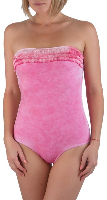 Preload https://item3.tradesy.com/images/pin-up-stars-pink-new-underwired-cups-fringe-top-swimwear-one-piece-bathing-suit-size-4-s-23331967-0-1.jpg?width=400&height=650