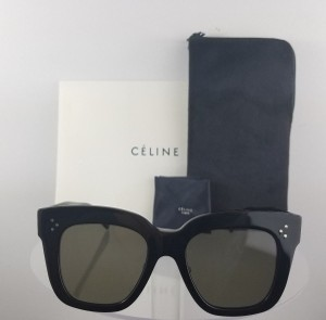 Céline Celine CL41444/S 06Z CL41444S Black Sunglasses NEW!