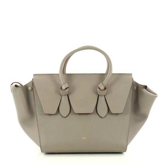 Preload https://item3.tradesy.com/images/celine-tie-knot-small-gray-leather-tote-23332067-0-0.jpg?width=440&height=440