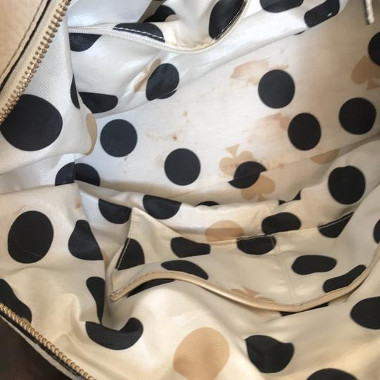 Kate Spade Satchel in black and cream