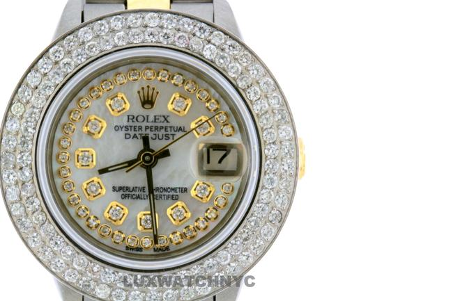 Rolex Box 2ct 26mm Datejust Gold S/S with & Appraisal Watch Rolex Box 2ct 26mm Datejust Gold S/S with & Appraisal Watch Image 1