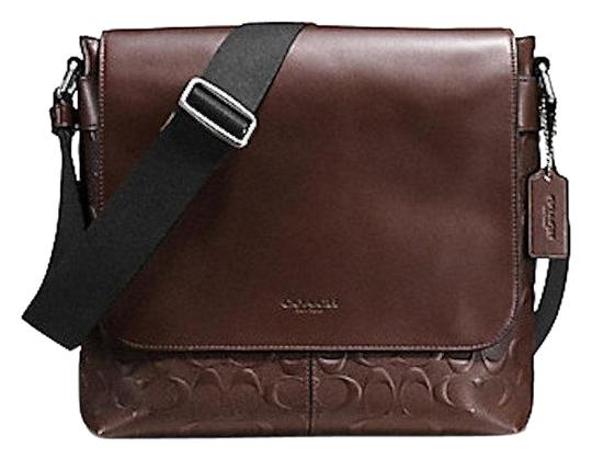 Coach New With Tags Sale Mahoghany Messenger Bag