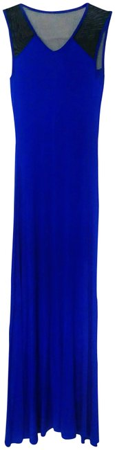 Preload https://img-static.tradesy.com/item/23332129/cache-royal-blue-and-black-accent-long-casual-maxi-dress-size-0-xs-0-3-650-650.jpg