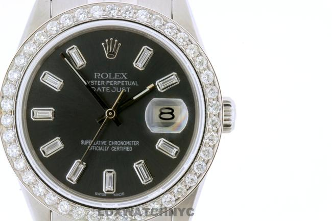 Rolex Box 2.2ct 36mm Datejust S/S with & Appraisal Watch Rolex Box 2.2ct 36mm Datejust S/S with & Appraisal Watch Image 1